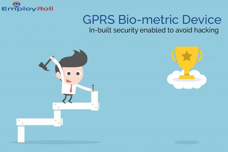 GPRS Biometric Device with in-built security.