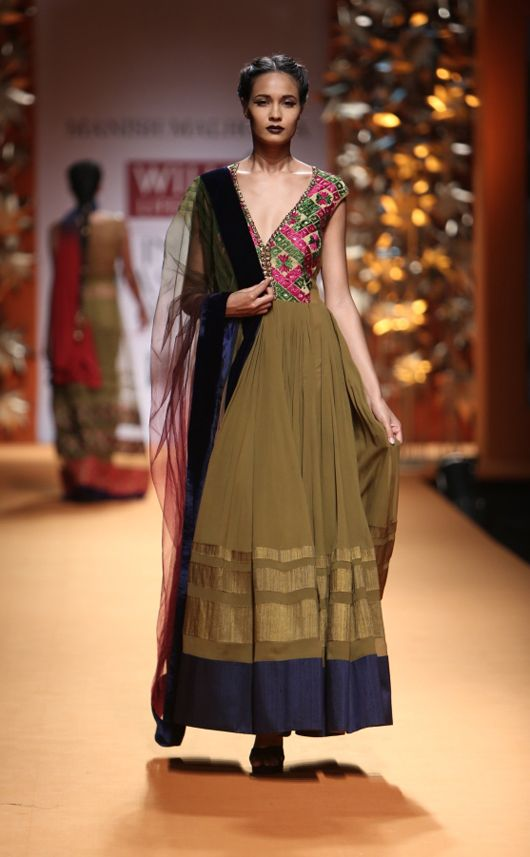 Manish Malhotra. Wills Lifestyle India fashion Week, 2013