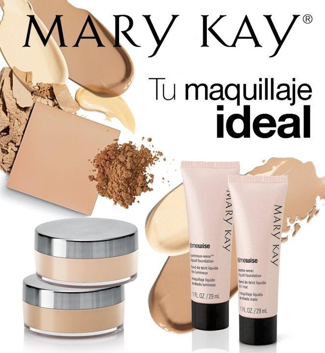 mary kay maquillaje