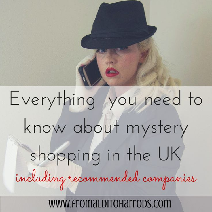 Everything you need to know about mystery shopping in the UK - From Aldi to Harrods