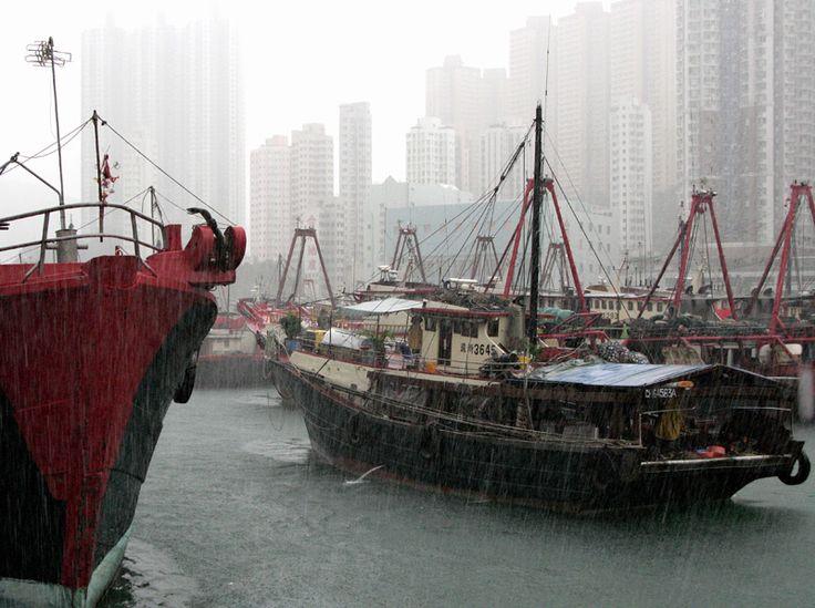 Rainy Days - Aberdeen, Hong Kong.