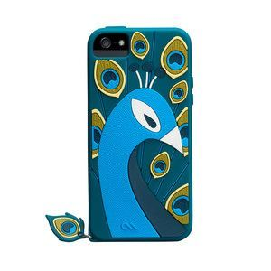 iPhone 4/4S Case Peacock Blue