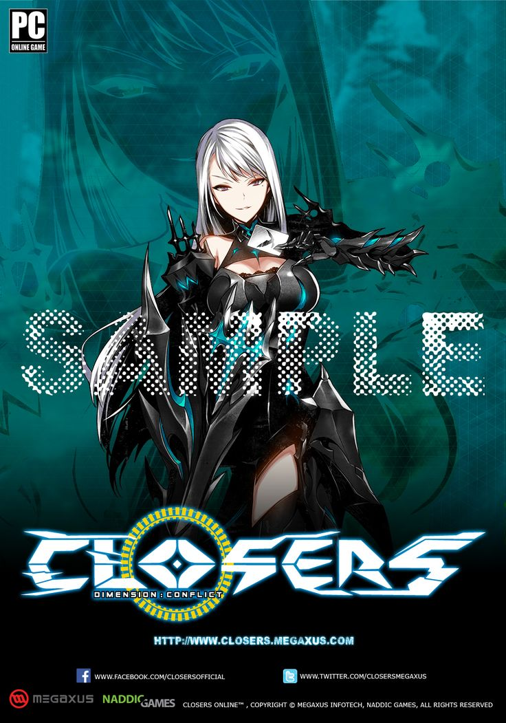 Character Harpy Normal Sample Indonesia Server Poster Splended/Brilliant of Darkness Edition Size 35 x 50 cm NOT FOR SALE
