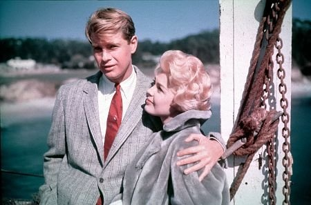Troy Donahue and Sandra Dee in