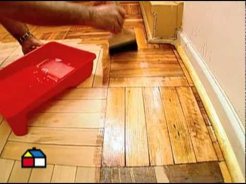 ¿Cómo reparar un piso parquet?