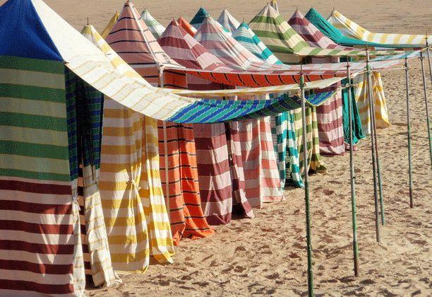 Casetas #playasanlorenzo #gijon #asturias #spain