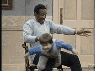 I did this to my kid because I watched Cliff Huxtable do it!