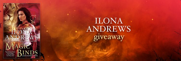Ilona Andrews Novel Giveaway Open to: United States, Canada, Other Location Ending on: 06/10/2016