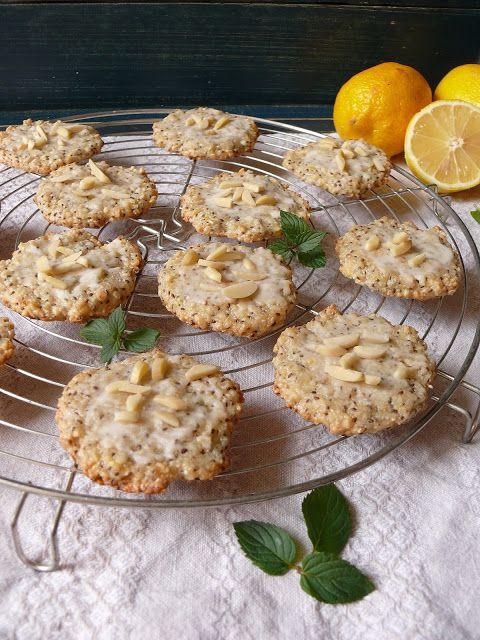 Vöröskaktusz diétázik: Mandulás chiás keksz citrommázzal (mindenmentes)