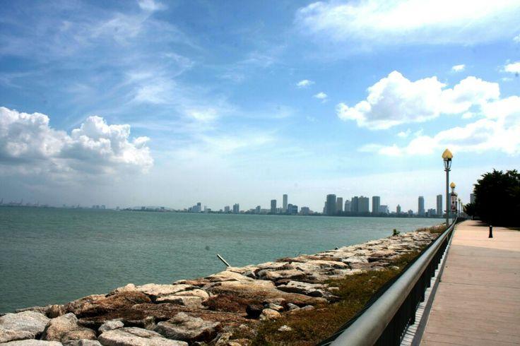 Penang city view