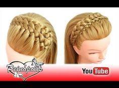 Como Hacer Peinados Faciles y Bonitos & Trenzas Faciles y Bonitas (P14)   Peinado 2016 Yencop - YouTube