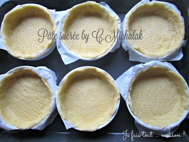 Je fais tout ... maison !: Pâte à tarte sucrée de Christophe Michalak