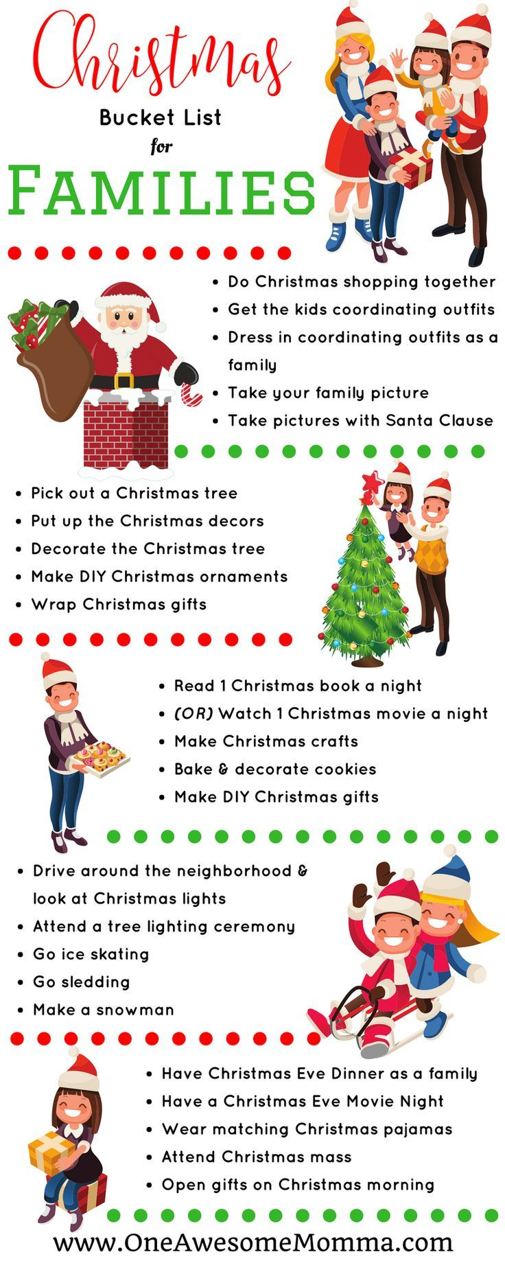 Are you looking for fun and memorable Christmas traditions to do with your family? Your family will surely have a lot of memories worth looking back on for years to come with these fun Christmas activities. #lifewithkids #christmastradition #christmas   memorable christmas ideas   christmas family tradition ideas   christmas family traditions   christmas activities   christmas activities for kids   christmas activities for families   fun christmas traditions   christmas bucket list family