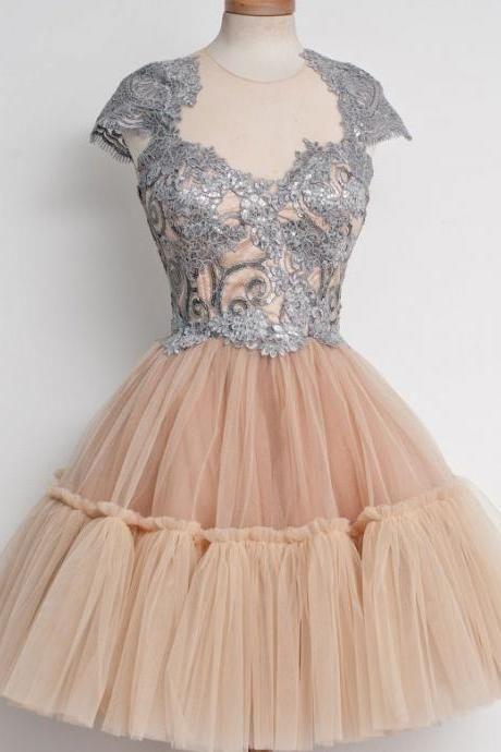 Short Homecoming Dress,Elegant Homecoming Dress,Knee-length Homecoming Dress, Junior Homecoming Dress,Graduation Dress , Homecoming Dress ,Prom Dress for Teens,17600