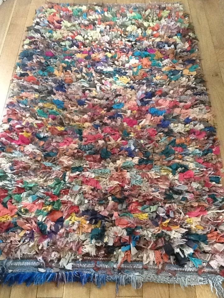 Vintage moroccan boucherouite rag rug - sale ends friday 1st august - 104 Best Rugs Images On Pinterest Rag Rugs, Moroccan Rugs And