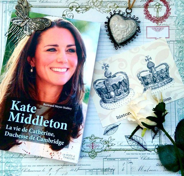 Mon avis sur la biographie de Kate Middleton de Bertrand Meyer Stabley! 👍 or 👎?