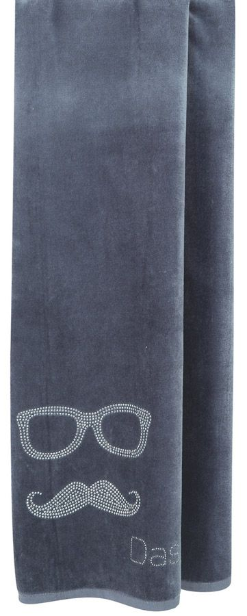 Πετσέτα θαλάσσης 75x150 Moustache