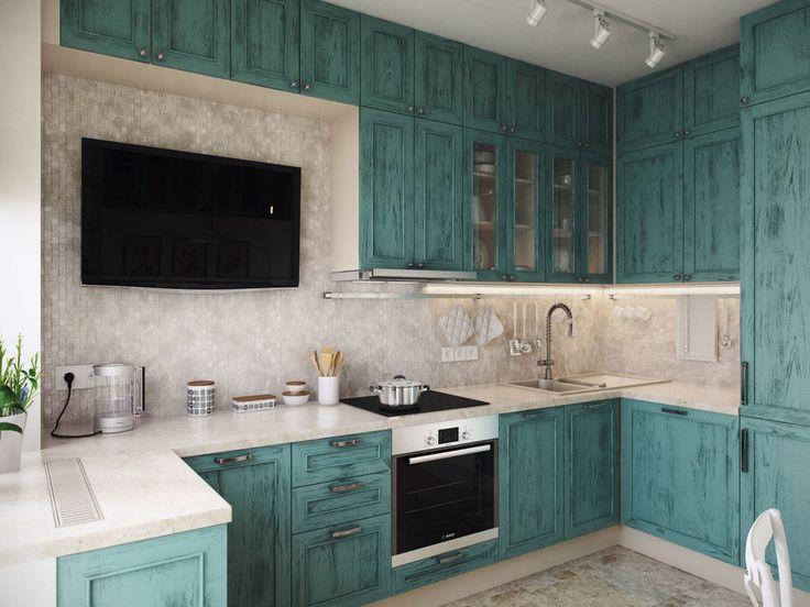 Стильная кухня в голубом цвете. Современная кухня. Телевизор на кухне. #justhome#джастхоум#джастхоумдизайн  ❤️❤️❤️Just-Home.ru Бесплатный каталог дизайн проектов квартир. Более 900 практичных и бюджетных проектов . Переходите на сайт и выбирайте лучшее!  #кухня #стильнаякухня #голубаякухня #телевизорнакухне #дизайнкухня #кухня2016 #идеикухни #идеиинтерьеракухни #дизайнинтерьеракухни #кухнякомната #идеиремонтакухни #ремонт #Современныйдизайн #модныйинтерьер #design #interior