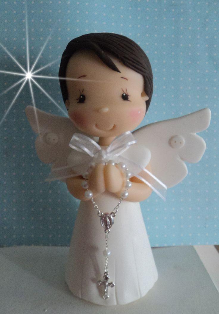 batizado anjo com terço contato:arteira_2010@hotmail.com www.facebook.com/soniamendesbiscuit