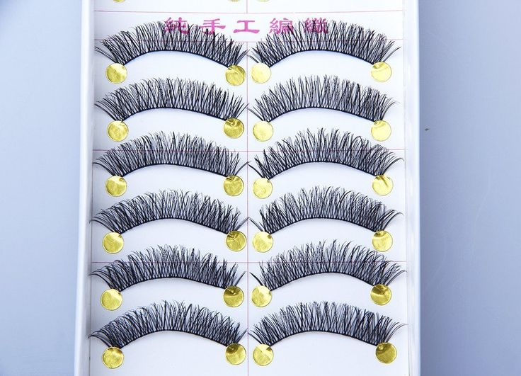 10 Pairs Fabwigs Natural False Fashion Fake Eyelashes Makeup Soft Cosmetic Y16 ** Read more  at the image link.
