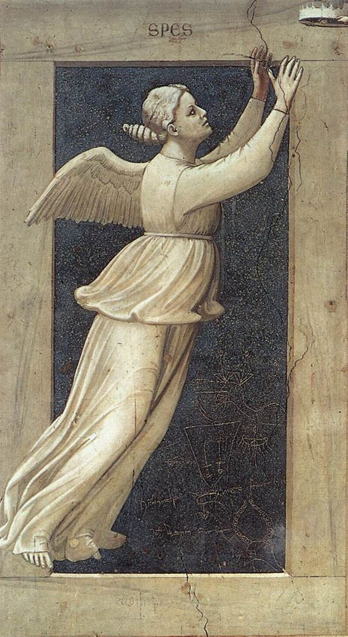 22 best art on 7 virtues images on pinterest italian painters hope the seven virtues 1306 cappella scrovegni padua giotto di bondone biocorpaavc