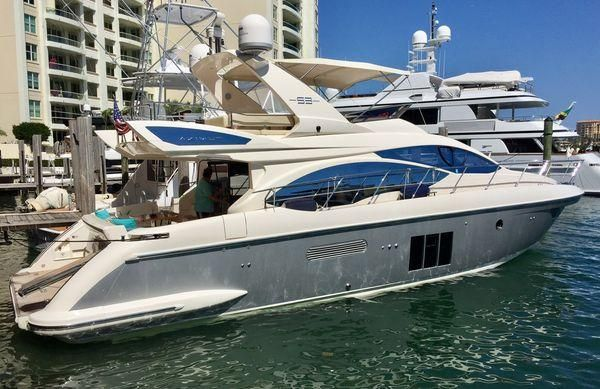 53 ft 2012 Azimut yacht for sale
