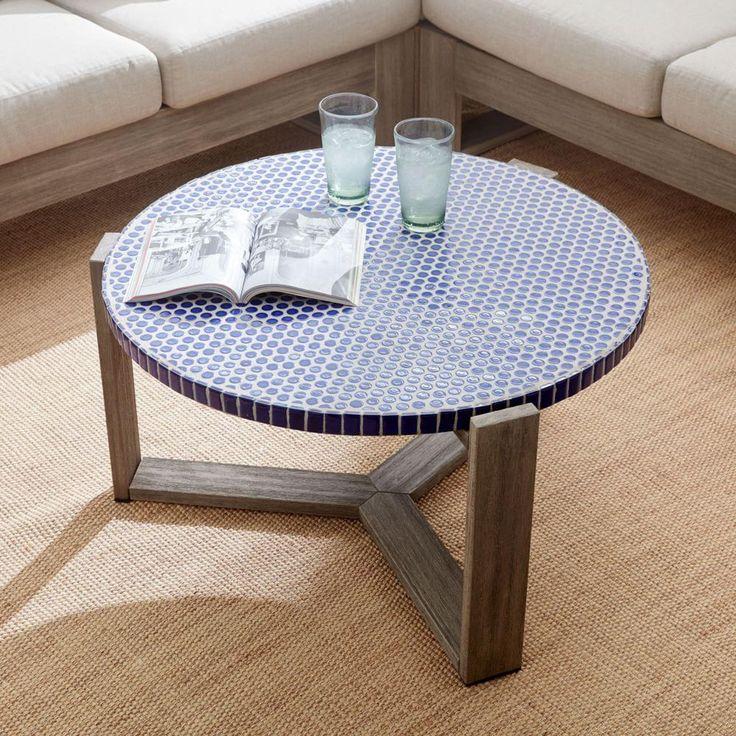 1000 Ideas About Mosaic Tile Table On Pinterest: 1000+ Ideas About Penny Coffee Tables On Pinterest