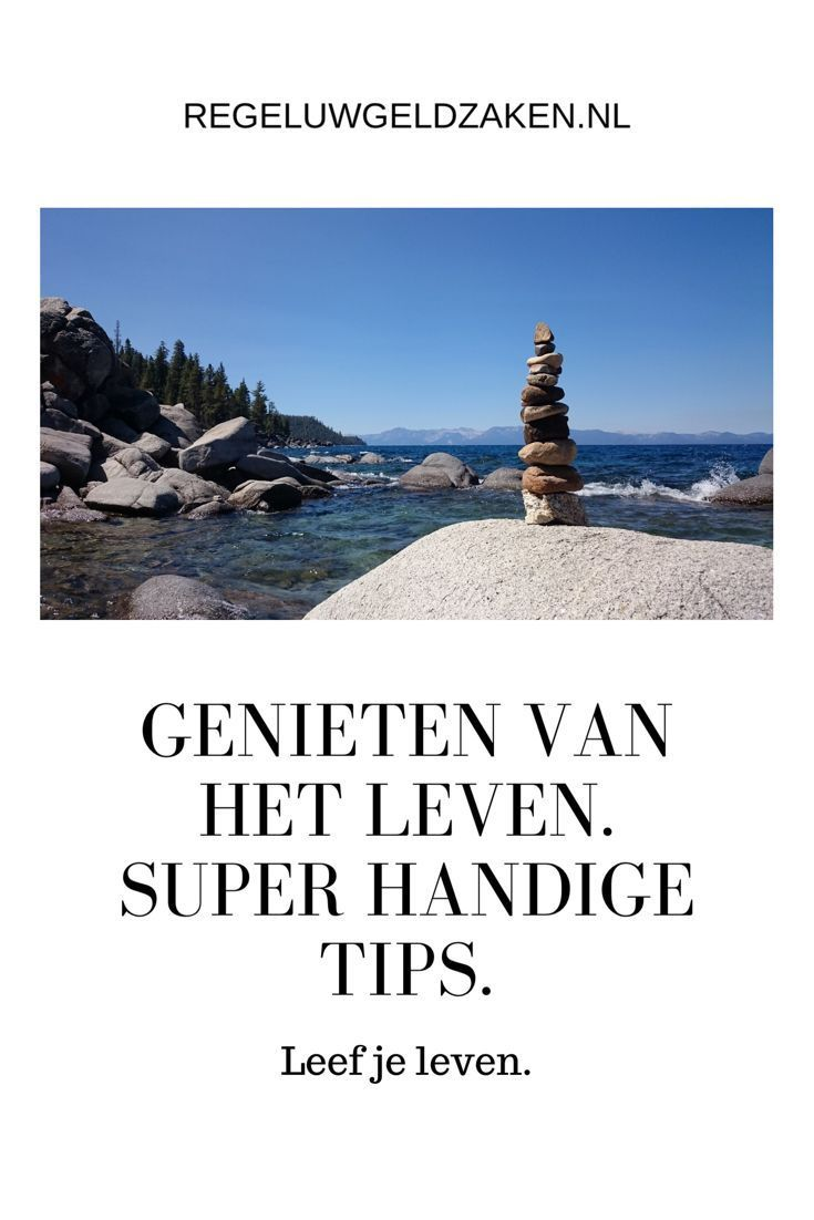 Genieten van het leven. Super handige tips. – #genieten #handige #Het #leven #Su…