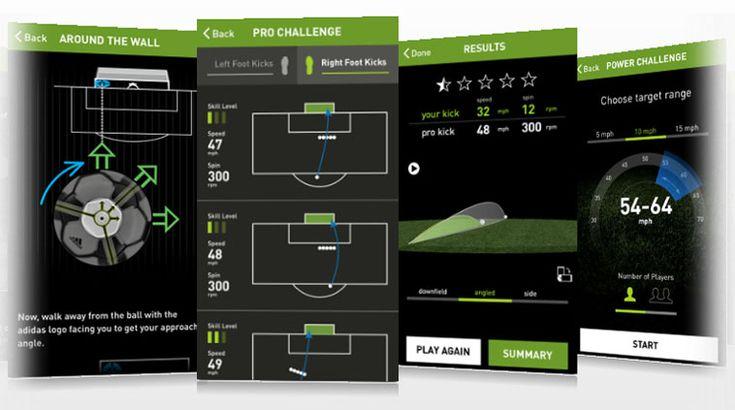 Bluetooth対応サッカーボール miCoach smart ball 発売、iPhoneでプロのキックと比較練習 - Engadget Japanese