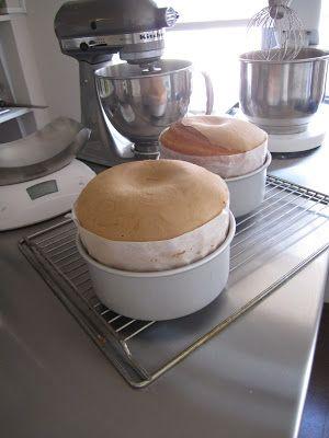 or que el cambio de temperara tan brusco con la temperatura del horno consigo que suba mucho más la masa del bizcocho.