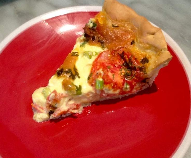 Recipe Yeast crust quiche by monicaih - Recipe of category Baking - savoury
