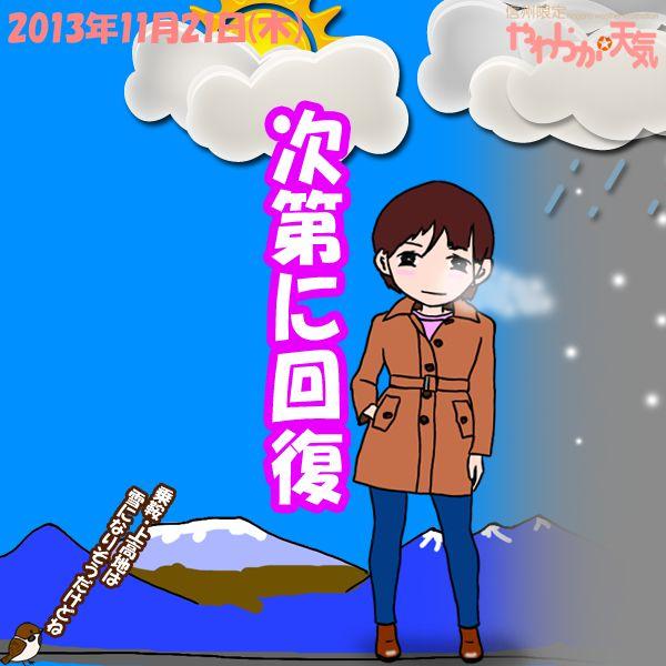 きょう(21日)の天気は「おおむね晴れ」。朝は雨や雪の降る所がありますが、日中は大体晴れる見込み。ただ、乗鞍・上高地は断続的に雪が降り、吹雪くおそれも。日中の最高気温はきのうと大体同じ、松本や安曇野で11度くらいの予想。