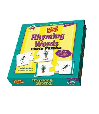 Rhyming Words Floor Puzzle - Carson Dellosa Publishing Education Supplies