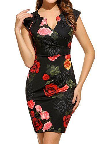 Zeagoo Women Vintage Floral Bodycon Dresses Party Cocktai... https://www.amazon.com/dp/B01MXV21ZA/ref=cm_sw_r_pi_dp_x_h0D5zbT2QQGHF