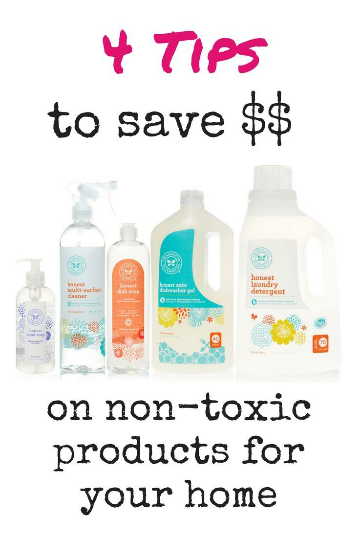 How to save money on non-toxic products for the home! and an Honest Company review.