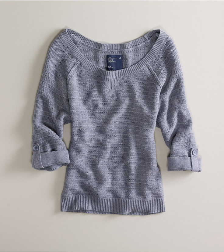 sweater: Grey Sweater, Style, American Eagles Sweaters, Clothes Outfits, Awesome Clothing, Clothing Outfits, Closet, American Eagle Sweater, Dolman Sweaters