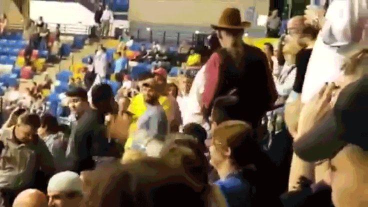 Trump Supporter Sucker-Punches Protestor at North Carolina Rally