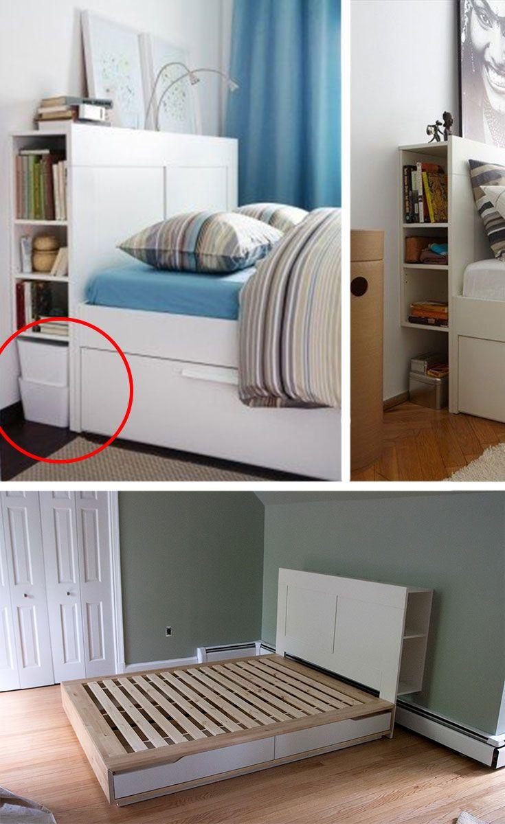 Top 9 Small Bedroom Storage Ideas Bedroom Storage For Small Rooms Small Space Storage Bedroom Small Bedroom