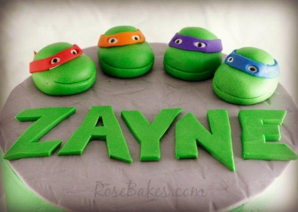 Ninja Turtle Wedding Cake Topper, Ninja Turtle Edible Cake Topper