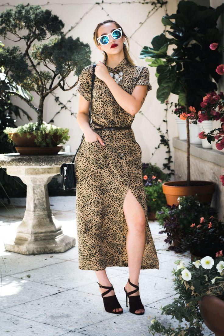 Vintage Cheetah Dress