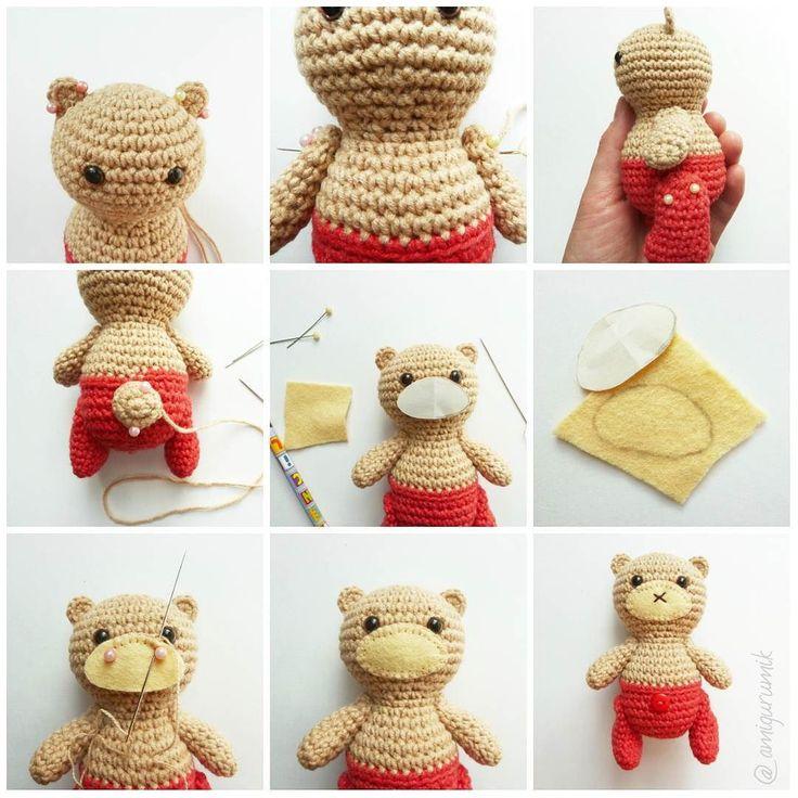 Стартовал заключительный этап по мишкам-малышкам  Сборка!  #amigurumik#amigurumi#crochet#bear #crochettoy#hobby#handmade#homemade#craft#амигурумик#амигуруми#мишка#крючком#медведь#мишкакрючком#вязание#своимируками#хобби #crochetaddict #instacrochet #crochetbear #мк #мастеркласс #онлайнмк #weamigurumi #weamiguru #lovecrochet #amigurumilove by amigurumik