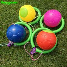 Happyxuan 2017 Nueva Bola De Salto Para Los Niños de Kindergarten Equipo de Juego Al Aire Libre Juguetes de Los Deportes(China (Mainland))