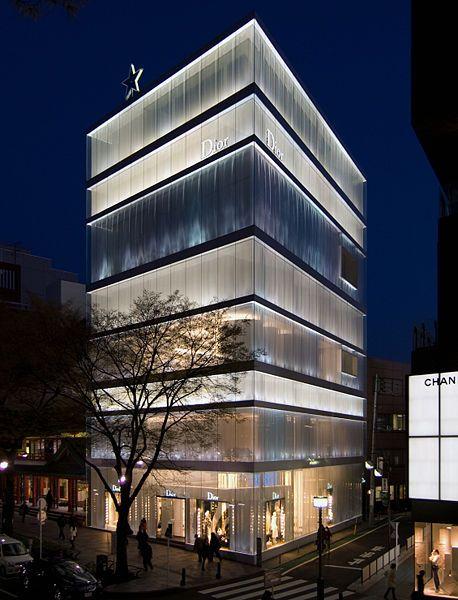 Kazuyo Sejima Dior Omotesando Tokyo
