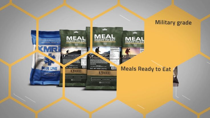 Why are MREs best ready to eat food?