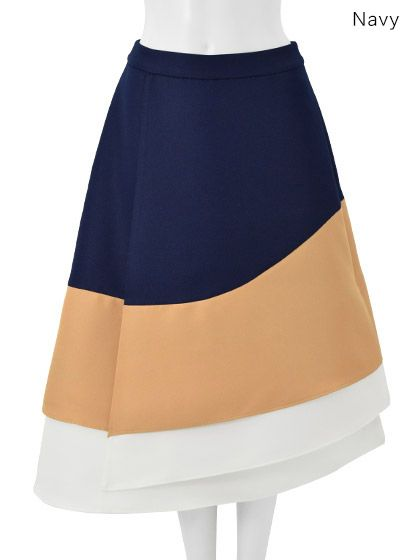Chesty e-boutique : Asymmetry Hem Skirt
