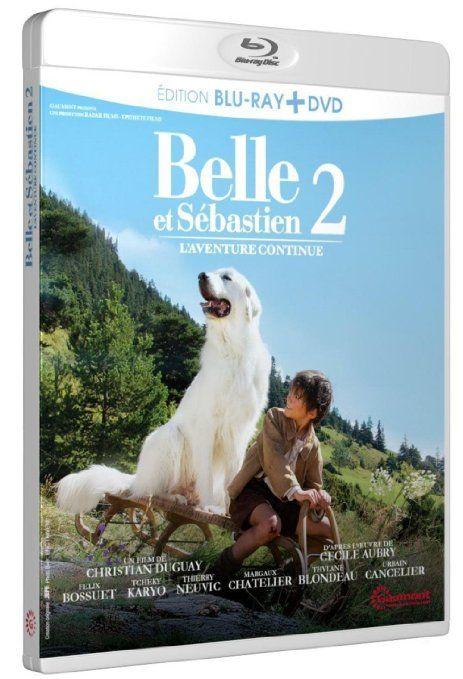 Belle et Sébastien, l'aventure continue [Combo Blu-ray + DVD] [Combo Blu-ray…