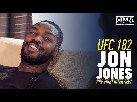 MMAFightingonSBN: Jon Jones UFC 182 Interview Prior to First Daniel Cormier Fight