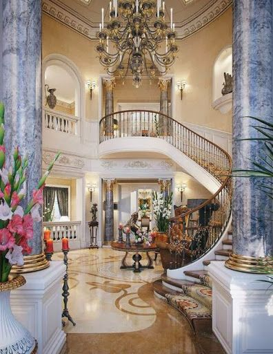 40 Luxurious Grand Foyers For Your Elegant Home: Best 25+ Luxury Staircase Ideas On Pinterest