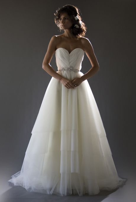 Brides.com: Cocoe Voci - Fall 2013. Gown by Cocoe Voci  See more Cocoe Voci wedding dresses in our gallery.