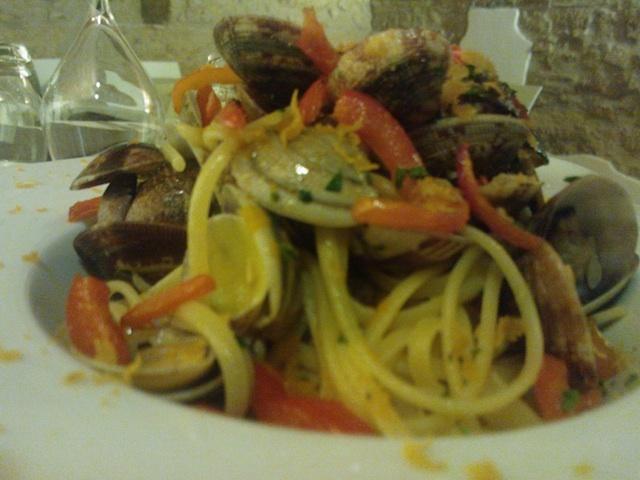 Primo piatto di mare